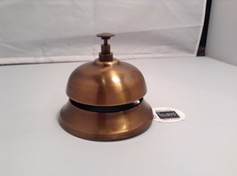 NEW Authentic design Antique Brass Hotel Desk Bell  - $49.49