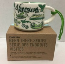Starbucks Vancouver Been There Ornament Mini Demi Mug Canada - $43.00