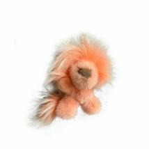 New Mink Wool Lion Bag Pendant Mink Real Fur Doll Luxury Keychain Fur Ke... - $39.07