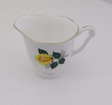 Royal Adderley Fine Bone China Small Creamer Ridgway Goldilocks Yellow Rose - $9.89