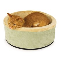 "Heated Cat Bed 4 Watts Pets Kitty Indoor 16"" Heater Warmer Warming NEW S... - $64.45"