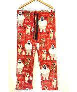 Bumble Abominable Snow Monster Rudolph Clarice Fleece Pajama Pants XL 16... - $23.64