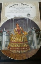"""Collection painted """"Melanie"""" by Raymond Kursar  limited edition Plate no... - $19.79"""