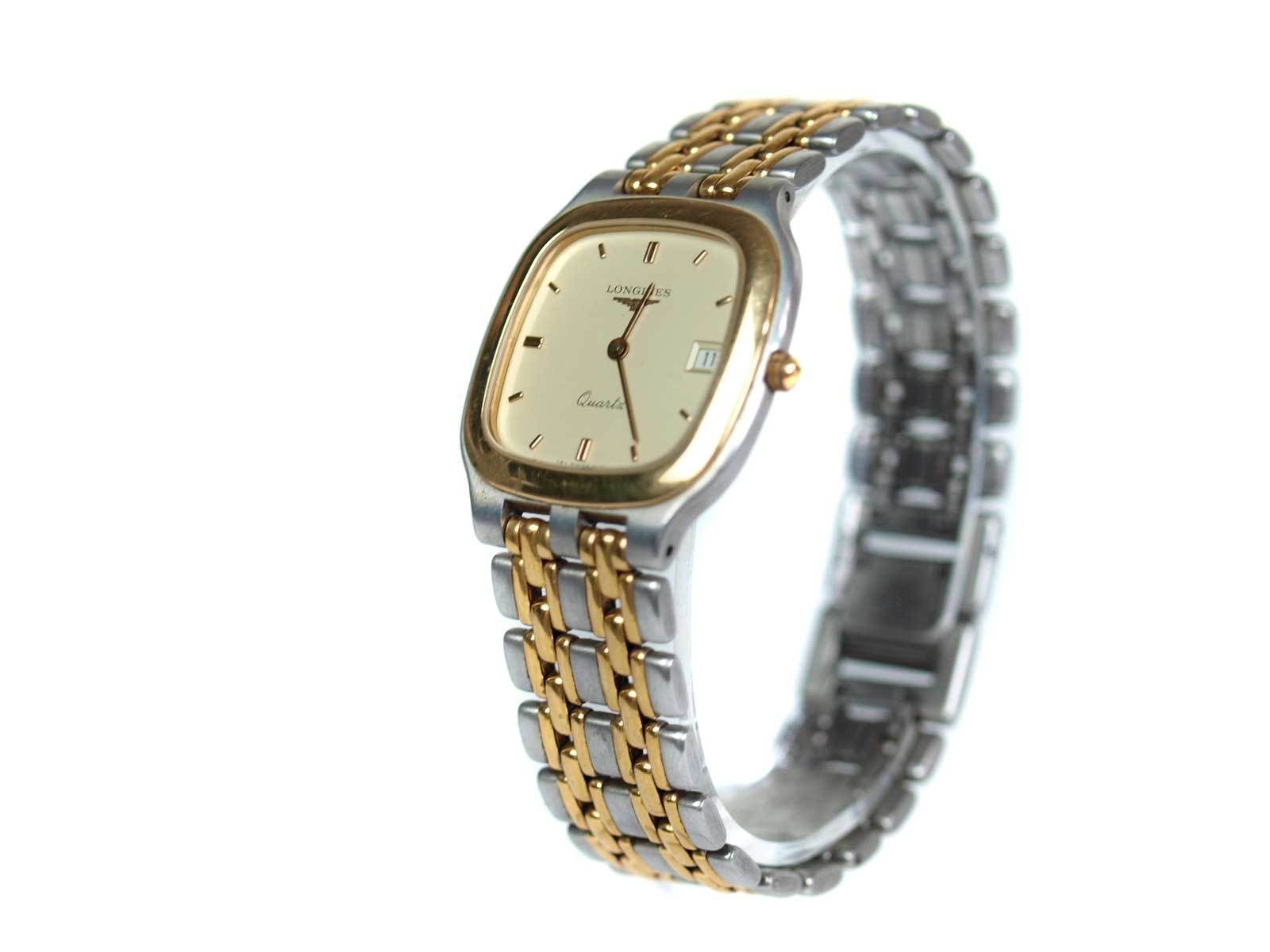 Primary image for Auth LONGINES Date Stainless Steel Quartz Watch Unisex LW16619L