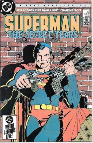 Superman: The Secret Years Comic Book #2 DC 1985 NEAR MINT NEW UNREAD