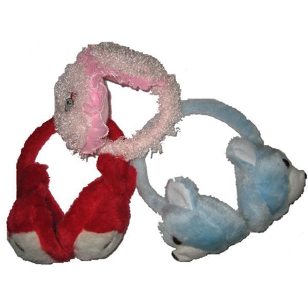 Case of [144] Furry Ear Muffs - Assorted Designs