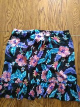 Miken Swim Beach Cover Up Skirt Size L image 2