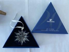 2011 Swarovski Crystal Annual Christmas Ornament 20 YEARS - $112.20