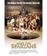 "MEET THE SPARTANS - 27""x40"" D/S Original Movie Poster One Sheet 2008 Car... - $19.59"