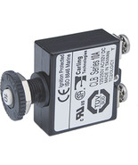Blue Sea Push Button Reset Only Screw Terminal Circuit Breaker - 10 Amps - $14.79