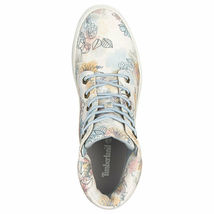 "Women's Timberland LONDYN 6"" SNEAKER BOOTS, FLORAL Sued TB0A1X46 T67 Multi Sizes image 3"