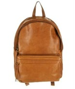 Madewell The Lorimer Large Leather Backpack Rucksack G2015 Brown - $119.59