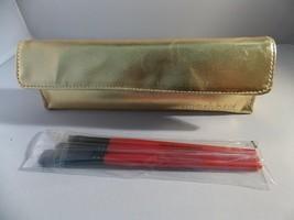 Smashbox Travel Set BRUSH Case Kit Precision Liner Definer Tapered Shadow New - $22.72
