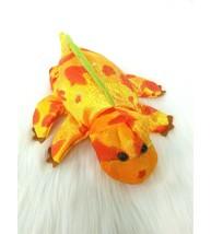 "13"" Caltoy Dragon Plush Full Size Hand Puppet Orange Yellow Green Plush ... - $11.99"
