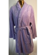 New Martha Stewart Beautiful Purple  Polyester Bathrobe Women One Size F... - $39.59