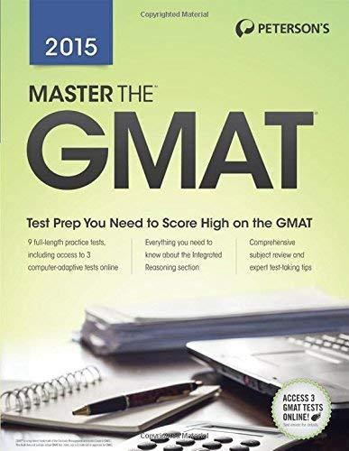 Primary image for Master the GMAT 2015 Peterson's