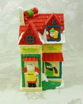 "Russell Stover Candies Coin Bank ""Candy Kitchen"" House Santa Elves Plast... - $15.83"