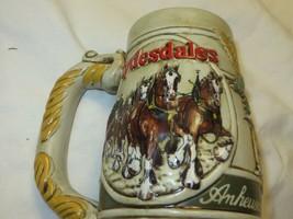 Anheuser Busch Clydesdale Budweiser Stein 1983 - $19.79