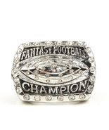 2016 Fantasy Football Championship Ring  - Silv... - $26.73