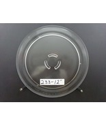 "12"" MICROWAVE GLASS TURNTABLE PLATE TRAY CAROUSEL 9"" track    (233) - $11.35"