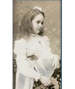 Bernice A. Shattuck Cabinet Photo of Beautiful Girl Age 10 - Milford, NH (1902) - $17.50