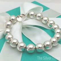 Tiffany & Co HardWare Ball Bracelet Sterling Silver 10mm Bead - $159.00