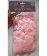 300 Rose Petals Wedding Easter Spring Party Romantic PINK craft decor Fl... - $3.99