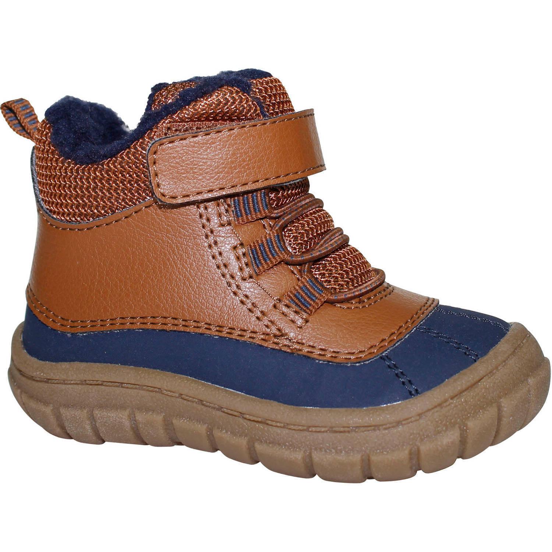 b9d138f4f9d Garanimals Toddler Boys Fur Boot Tan & Navy and 50 similar items