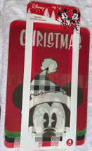 Christmas Mickey & Minnie Mouse Flexible Cutting Board Set of 4 New 11.5... - $21.99
