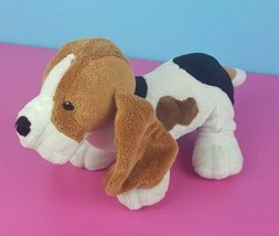 "Ganz Webkinz Plush Hound Dog HM400 No Code Basset Brown White 10"" Puppy ... - $9.89"