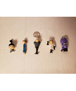 Lot of 5 Despicable Me Characters, Neat Little Lot - $6.76