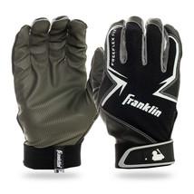 Franklin Sports MLB Freeflex Baseball Batting Gloves Black/Gray/White Yo... - $19.99