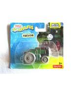 Fisher Price Thomas & Friends Adventures TREVOR Metal Train Engine DXR90... - $6.64