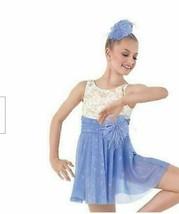 NEW! Dance Costume Child Sizes M & L Purple Lyrical Modern Outfit Weissm... - $26.01+