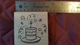 Cake Rubber Stamp~Birthday, Anniversary, Any Occasion! - $4.94