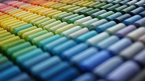 Neuf Gondole Pastel Doux 242 Couleurs Set Fait à la Main en Japon F/S