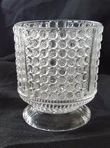 EAPG Clear Richards & Hartley Glass Three Panel Pattern Celery Vase Or S... - $15.00