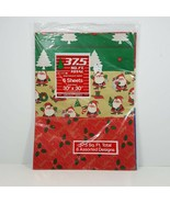 Vintage Cleo Wrapping Paper Pack Mixed Designs 6 Sheets 37.5 Square Feet... - $14.99