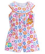 "Disney Store Baby Girls Nemo - Finding Nemo - ""Seaside Fashion"" Knit Romper - $21.20"