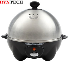 HOMEIMAGE Electric 7 Egg Cooker and Poacher with Stainless Steel Tray & ... - €20,78 EUR