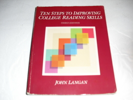 ten  steps  to  improving  college  reading  skills - $1.25