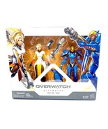 Hasbro Overwatch Ultimates Series Mercy - Pharah Action Figures - Mint in Box - $31.92