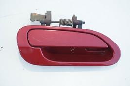 1998 - 2002 Honda Accord 4 Door Passenger Rear Outer Door Handle (Maroon) - $39.99