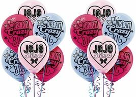 JOJO SIWA Latex Balloons Decoration Birthday Girl Dream Dance Moms Pink ... - $6.92