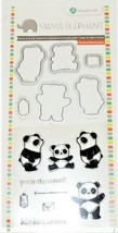 """Mama Elephant """"You're the Cutest"""" Panda Stamp and Die Set #SCO765"""