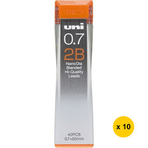 [Back to School] Uni Nano Dia UNI0.7-202ND 0.7mm 2B Refill Leads (Pack o... - $17.69