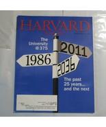 Harvard Magazine September 2011 University Now and Past 25 years S2 - $39.99