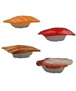 Set of 4 Artificial Lifelike Sushi Simulation Fake Food Home Shops Decor... - $18.25