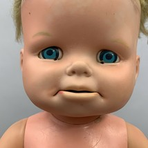 Vintage Mattel Baby Doll Sad Face 13 Inches 1965 No Clothing - $14.99