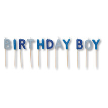 Pick Letter Sets Candles Birthday Boy/Case of 12 - ₨3,449.67 INR
